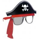 Lunettes amusantes Pirate teintées / claires