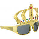 Fun glasses king gold, tinted