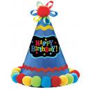 Party kalap Születésnapi Brights papír szövet 20.9