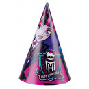 wholesale Children's and baby clothing: 6 party hats Monster High 2