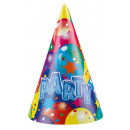 6 party hats balloon party 2