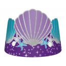 Großhandel Kleider: 8 Tiaras Mermaid Wishes Papier 16 x 12,6 cm