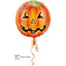 Standard Playful Pumpkins Foil Balloon Packed
