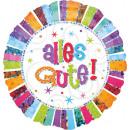 Szabványos sugárzó születésnapi Alles Gute születé