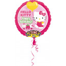 Sing-A-Tune Hello Kitty Birthday foil balloon verp