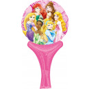 Inflate-a-fun princesses foil balloon packaged