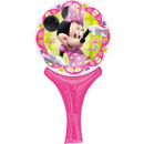 Inflate-A-Fun Minnie Mouse Foil Balloon Packed 15