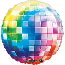 Jumbo Disco Fever 70's foil balloon P33 packed