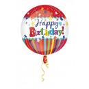 wholesale Food & Beverage: Orbz Happy Birthday Stripes & Bursts Foil ...