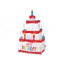 Tisch-Dekoration Birthday Accessories Regenbogen-f