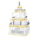 Table decoration Birthday Accessories Silver &