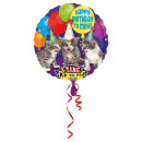 Großhandel Nahrungs- und Genussmittel: Sing-A-Tune Happy Birthday to Miau Folienballon ve
