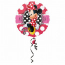 Standard Minnie Portrait foil balloon loose 43 cm