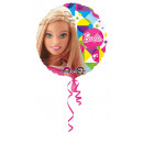 Standard Barbie Sparkle Fólia Balloon Packed Round