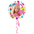 Standard Barbie Sparkle Happy Birthday Foil Léggöm