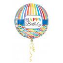 mayorista Alimentos y bebidas: Orbz Happy Birthday Bright Stripe y Chevron ...