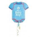 SuperShape Shower With Love Boy Folienballon verpa