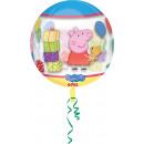 Orbz ' Peppa Pig ' Foil Balloon Clear pack