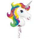 SuperShape Rainbow Unicorn fólia léggömb csomag