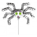 Mini Shape Striped Spider Foil Balloon Loose