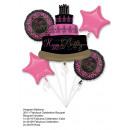 Boeket 'Fabulous Celebration' folieballon,