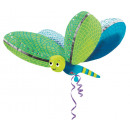 UltraShape dragonfly foil balloon packed 101 x 79