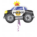 wholesale Gifts & Stationery: Junior Shape Police Car Foil Balloon, Packed, 6