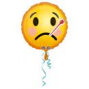 Standard Emoticon get Gute Besserung foil balloon,