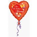 Standard Für die liebste Mama Folienballon Rund ve
