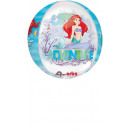 Orbz ' Ariel Dream Big' Foil Balloon Clear