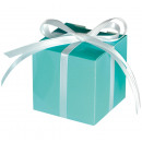 100 cajas de regalo Colorful Wedding turquo 5,7x5,