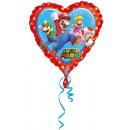 Standard 'Super Mario - Love' Foil Balloon
