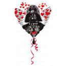 Standard 'Star Wars - Love' Folienballon Herz, los