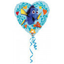 wholesale Party Items: Standard 'Find Dorie - Love' foil balloon
