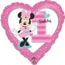 mayorista Material escolar: Globo de papel estándar ' Minnie - 1st Birthda