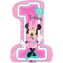 SuperShape ' Minnie - 1st Birthday' Foil B