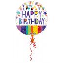 mayorista Alimentos y bebidas: Estándar ' Happy Birthday - puntos dorados&#39