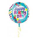 mayorista Alimentos y bebidas: Orbz ' Happy Birthday - Globo de papel de Stre