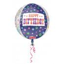 mayorista Alimentos y bebidas: Orbz ' Happy Birthday - Tart' globo de ...