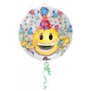 nagyker Parti kellékek: Bennfentes Emoticon - Party Hat fólia ballon, ...