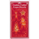 5 cortadores de galletas Navidad 10.2 cm