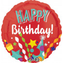 wholesale Food & Beverage: Standard ' Happy Birthday - Festive' foil