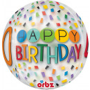 mayorista Alimentos y bebidas: Orbz ' Happy Birthday Rainbow - 40' Foil B