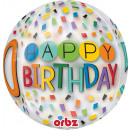 Orbz ' Happy Birthday Rainbow - 50' Foil B