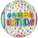 mayorista Alimentos y bebidas: Orbz ' Happy Birthday Rainbow - 60' Foil B