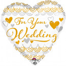 Standard 'For Your Wedding Heart' Foil Bal