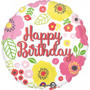 wholesale Food & Beverage: Standard ' Happy Birthday - Pretty Flowers&#39