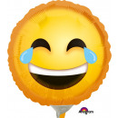 9 '' Laughing Emoticon 'Foil Balloon r