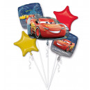 Bouquet 'Lightning McQueen' 5 fólia léggöm