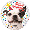 wholesale Food & Beverage: Standard ' Happy Birthday - Dog' Foil Ball